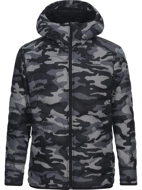 Peak Performance M's Helium Down Hooded Jacket Pattern
